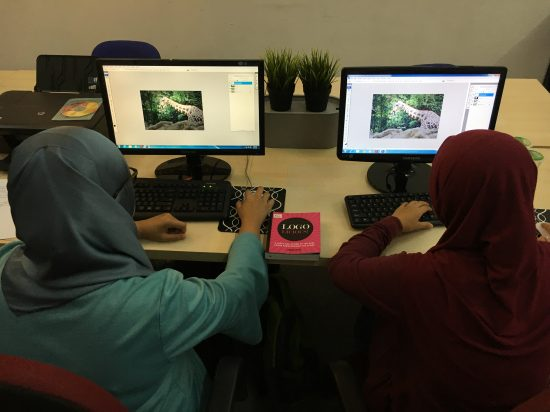 kursus photoshop dan illustrator Pixie Studio